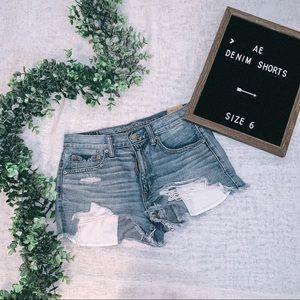 "American Eagle Denim Shorts ""Vintage Hi-Rise"""